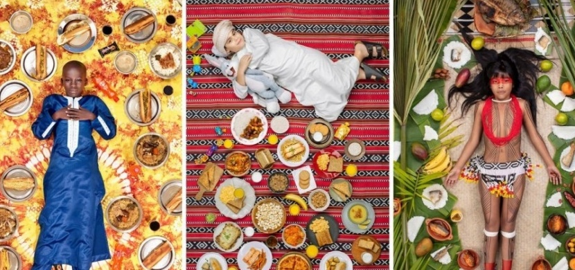 Fotograf zdokumentoval týdenní jídelníček dětí z různých zemí světa: Jeho počin má hlubší podstatu