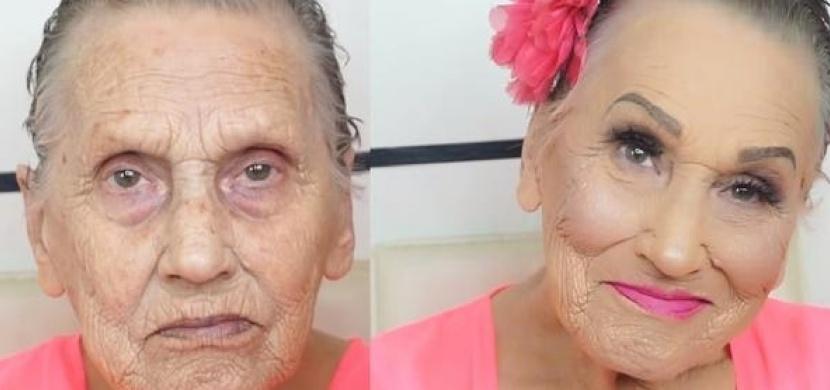 Chorvatská babička Glam Ma je hvězdou Instagramu: A to díky své vnučce, která je make-up artistkou