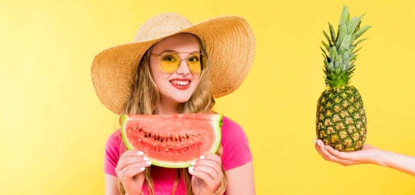 Exotické spalovače tuků jako součást letního jídelníčku: Zhubnete díky ananasu, melounu i granátovému jablku