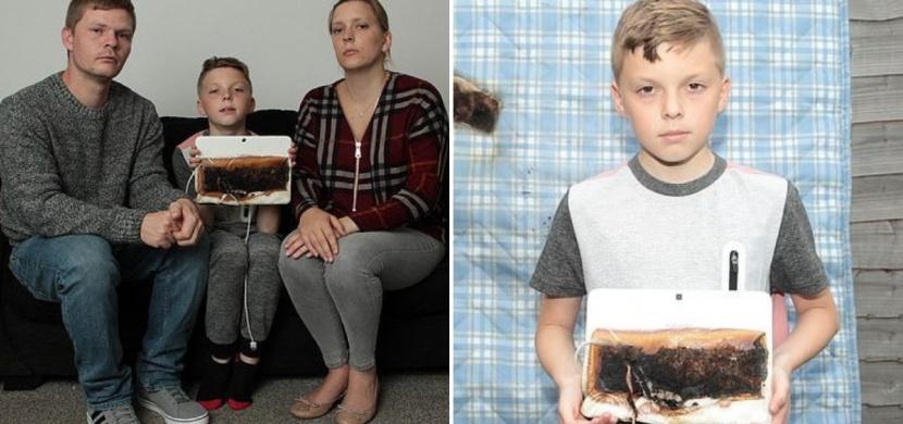 Usínání u tabletu? Pro vaše dítě to může mít fatální následky, upozorňují Amy a Stewart Hewkinovi