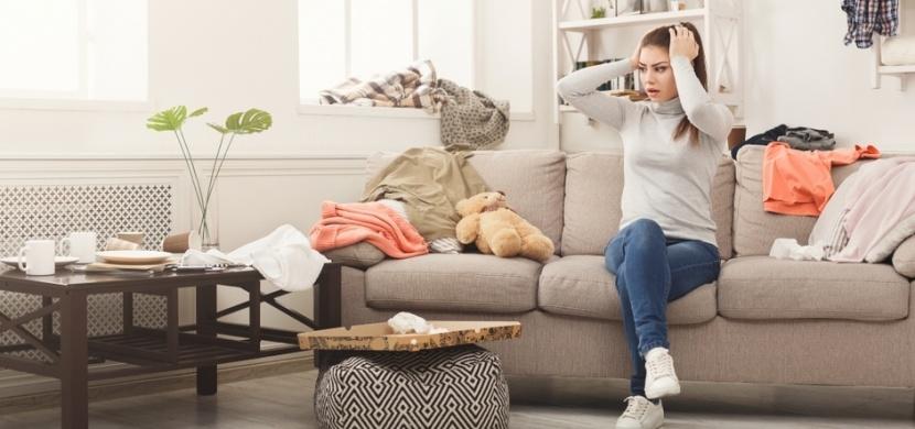 Máte nepořádek v bytě a neřešíte to? Zaděláváte si na partnerské problémy a zahráváte si s depresí