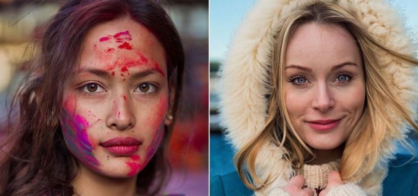 Umělkyně Mihaeala Noroc fotí na ulicích nejkrásnější ženy světa: Prohlédněte si její Atlas krásy