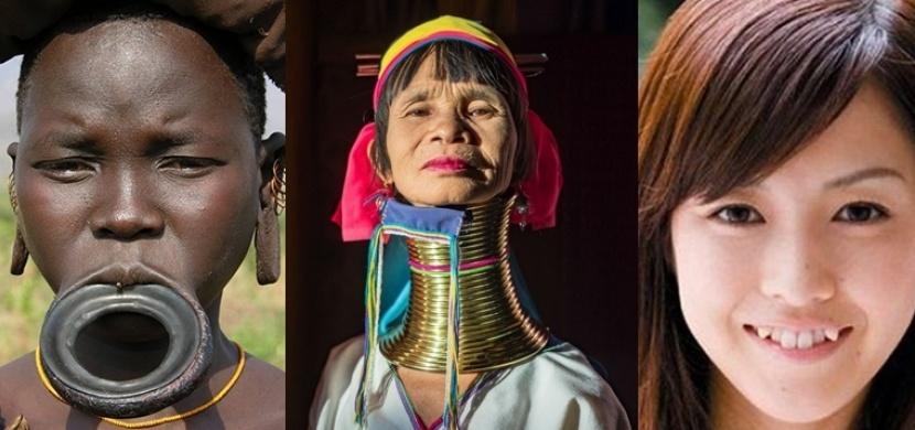Ideál ženské krásy napříč různými kulturami: Od Thajska až po Indii
