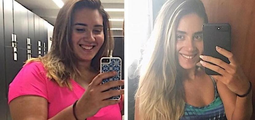 Brazilská dívka Lorena Assis vážila 120 kilogramů. Nyní vypadá jako modelka