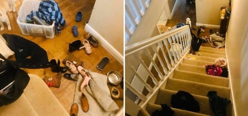 """Mamince Caroline Eyles vadily fotky dokonale naklizených domovů na sociálních sítích. """"Bydlenkám"""" poslala jasný vzkaz"""