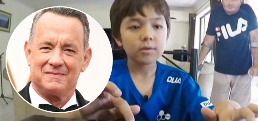 Australskému chlapci se ve škole smáli kvůli jménu Corona. Zastal se jej herec Tom Hanks