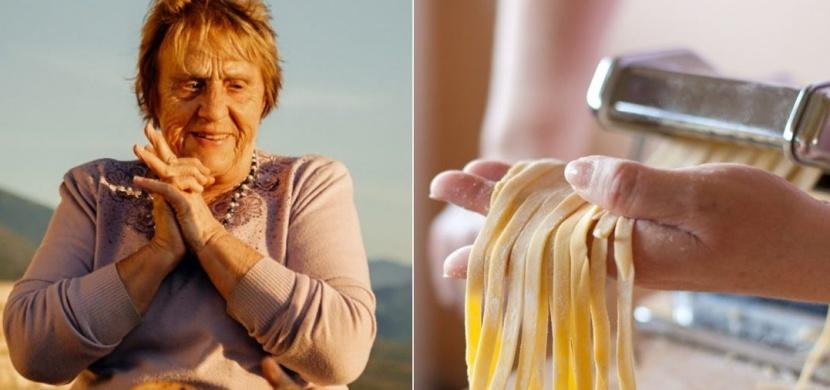 Z 84leté italské babičky se díky koronaviru stala hvězda internetu. Nonna Nerina radí, jak na domácí těstoviny