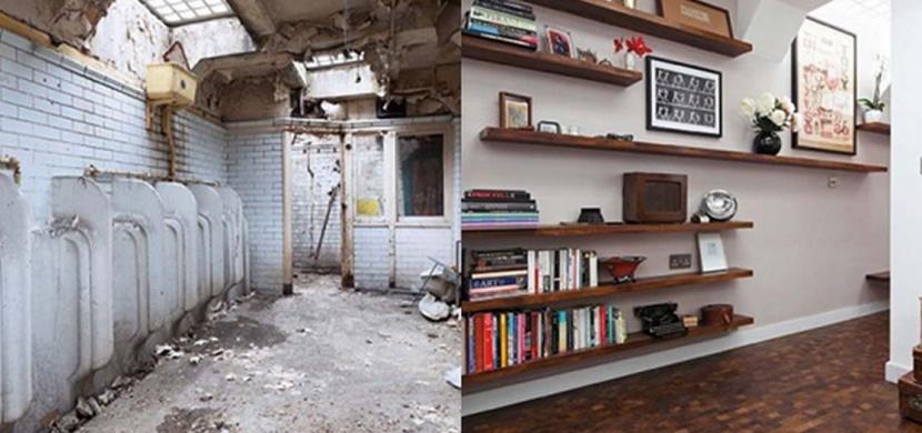 Architektka přestavěla veřejné záchodky v centru Londýna na dům snů. Jejímu nápadu se lidé smáli, nyní jej obdivují