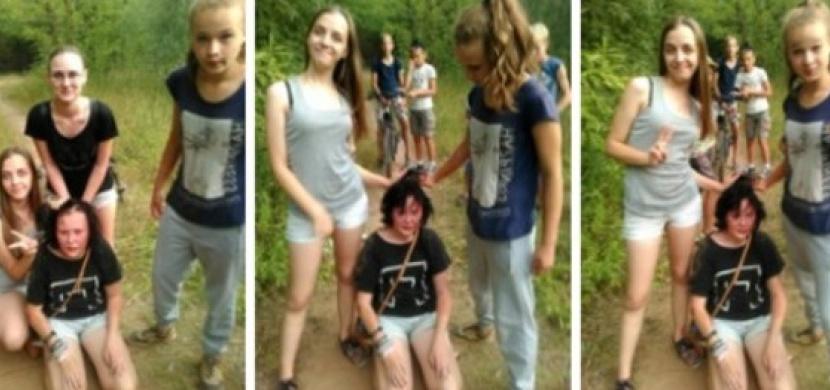 Dívky šikanovaly spolužačku a ještě si vše natáčely. Poznáváte je?