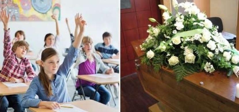 13letý školák z Británie dostal za domácí úkol, aby si naplánoval vlastní pohřeb. Jeho máma zveřejnila celé zadání na Instagramu