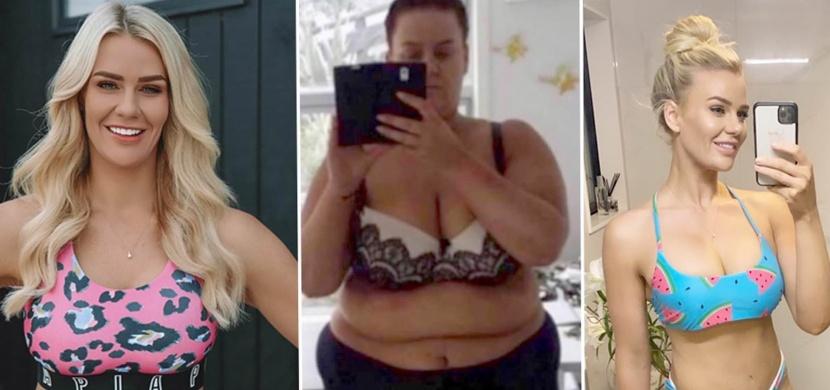 Novozélanďanka Simone Anderson zhubla více než 92 kilogramů. Za svou proměnu vděčí fitness