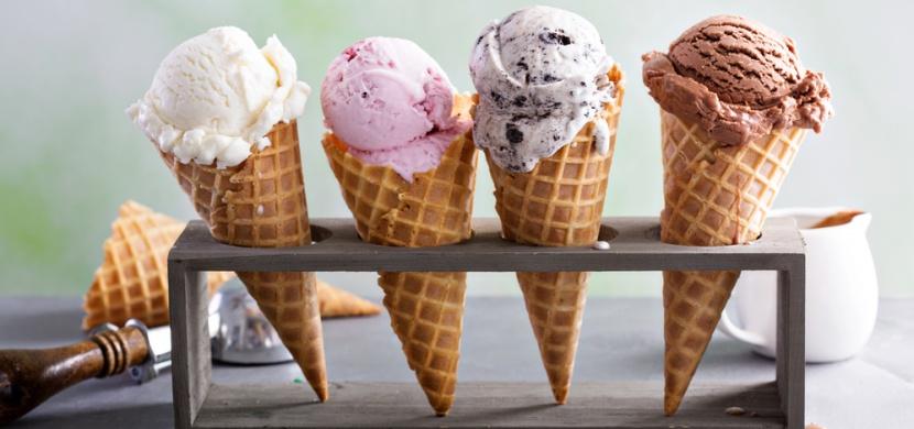 Jak poznat kvalitní kopečkovou zmrzlinu: Má přirozenou barvu a příliš rychle netaje
