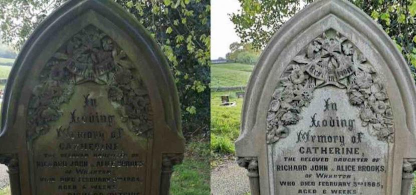 Ryan van Emmenis spolu se svými dětmi vyčistil během karantény desítky starých náhrobků. Svým přístupem inspiroval další lidi