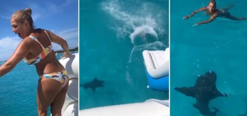Američanka Iso Machado přežila setkání se žralokem poblíž Baham. K celé události došlo během její narozeninové oslavy