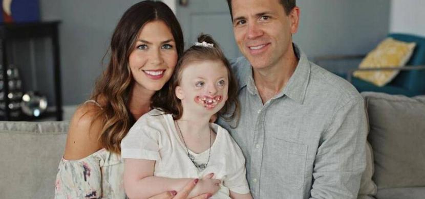 Zemřela holčička Sophia s Rettovým syndromem. Otec jí na rozloučenou napsal dojemný dopis