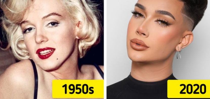 Ideál ženské krásy ušel dlouhou cestu. Krásná žena současnosti nosí make-up, má tělo tvaru přesýpacích hodin a chodí do posilovny