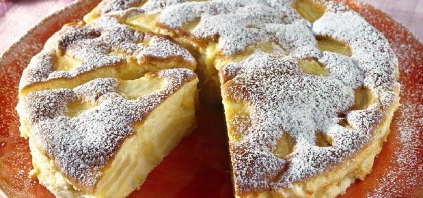 Italský jablkový koláč z jedné mísy. Stačí jen smíchat všechny ingredience