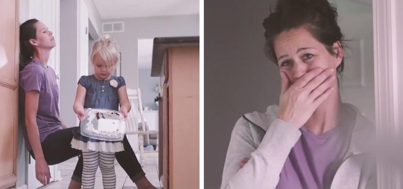 Jak vidí běžný den dítě a jak jeho matka. Video vlogerky Esther Anderson během nouzového stavu nese krásné poselství