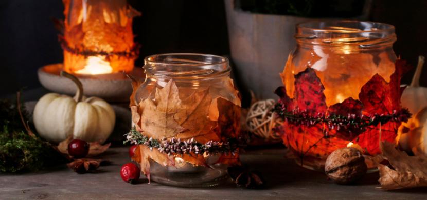 Vytvořte si nejkrásnější podzimní dekorace: Zkrášlí interiér, vchodové dveře i okenní parapet