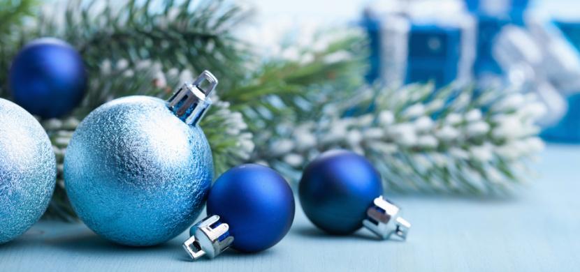 Barvou Vánoc 2020 je klasická modrá. Nadčasový modrý odstín sluší vánočnímu stromečku i sváteční tabuli
