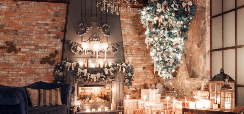 Netradiční vánoční stromek může mít řadu podob. Inspirujte se nápady kreativců