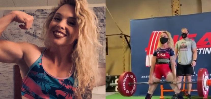 Kulturistka Heather Connor váží 46 kilogramů. Přesto zvedla 200 kilogramů na mrtvý tah a překonala rekord