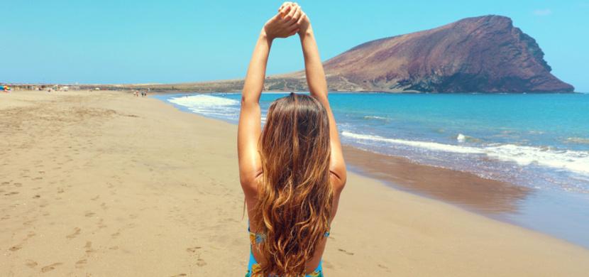 Agáta Hanychová se vyhřívá na Kanárských ostrovech. Na Instagramu ukazuje fotky nejen v plavkách