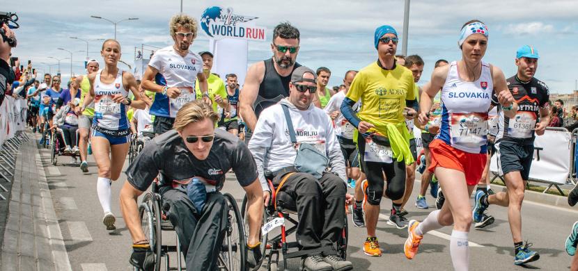 Svět se mění, ale myšlenka Wings for Life World Run zůstává: Běžíme pro ty, kteří nemohou