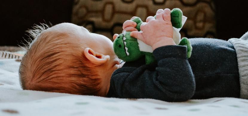 Táta Libor Bouček má neuvěřitelně roztomilého syna. Albert je v 9,5 týdnech k zulíbání