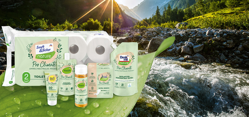 dm drogerie uvádí novou produktovou řadu Pro Climate neutrální k životnímu prostředí
