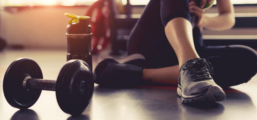 Agáta Hanychová cvičí v posilovně pětkrát týdně. Podívejte se, jak má namakané tělo